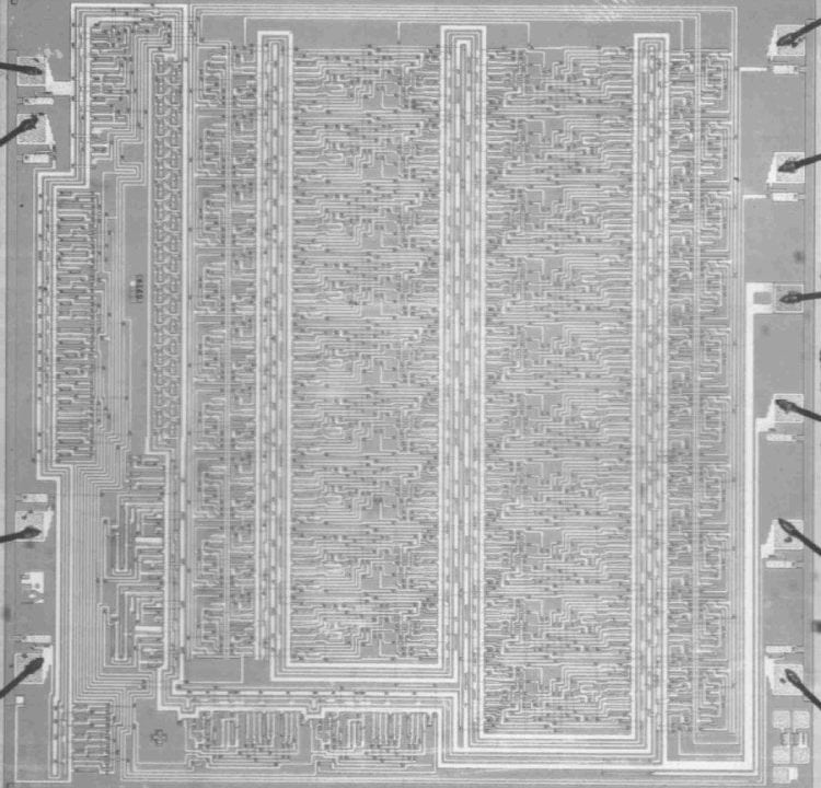 First Microprocessor 20-bit Multiplier